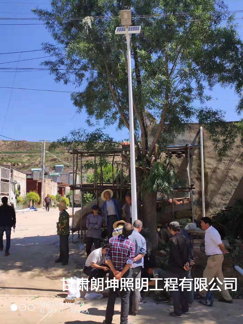 天水农村太阳能路灯安装工程
