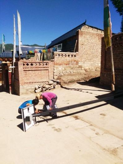 甘南藏族自治州-6米家用太阳能庭院灯安装