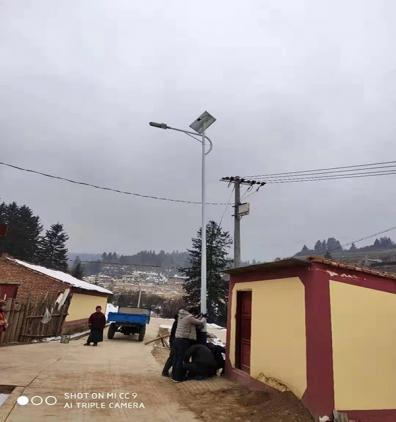 甘南太阳能路灯安装