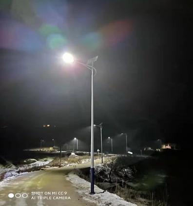 甘南太阳能路灯安装工程