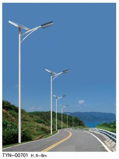 太阳能路灯杆要达到标准,兰州路灯厂家该怎么做?