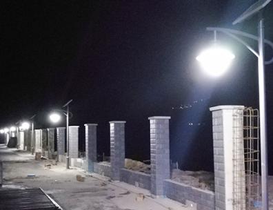 LED材质的太阳能路灯有什么价值