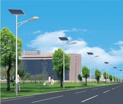 太阳能路灯的系统组成部分